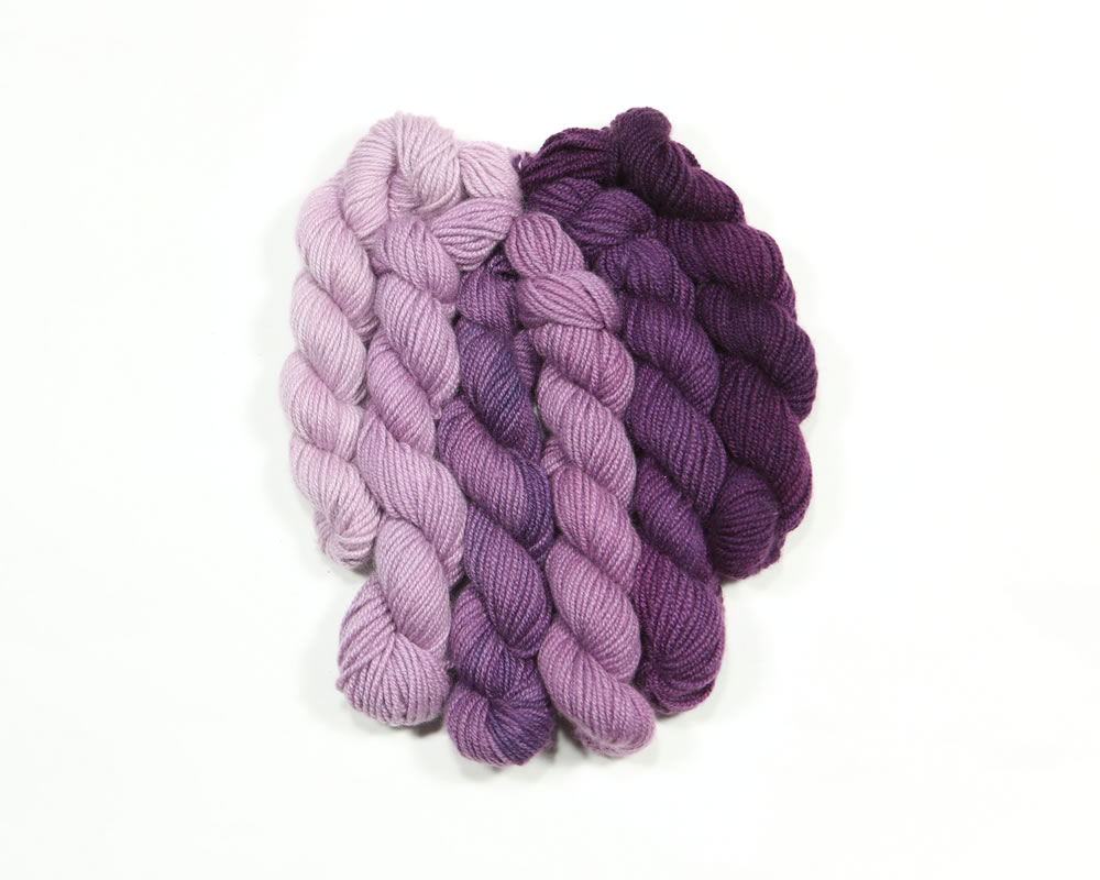 Mini Ombre Collection, Heliotrope